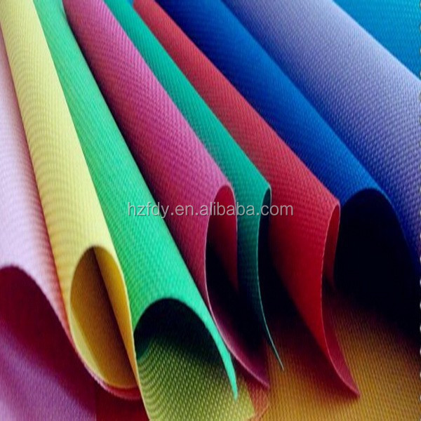 600D polyester textile oxford fabric PVC coated of South Africa Market
