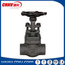 Forged steel gate valve Outside screw and yoke Bolted bonnet Rising stem