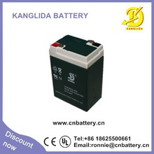 6v 4.5ah GP small sealed rechargeable deep cycle lead acid storage battery