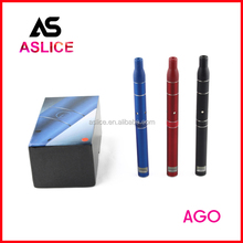 Aslice Newest E Cigarette Model 650 mAh Dry Herb Vaporizer pen Ago with LCD Display