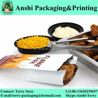 Printed grilled chicken bag aluminum barbecue bag