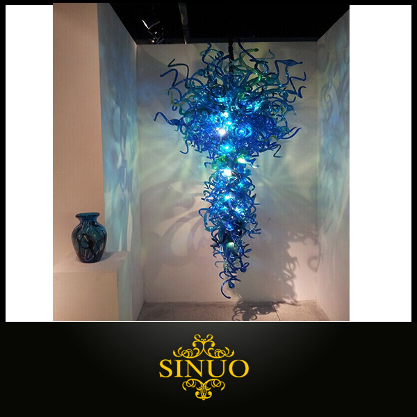Artist Original Elite Blown Handcrafted Glass Chandeliers