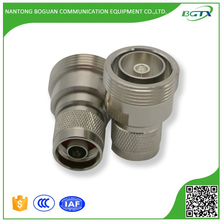DIN female to N male rf coaxial cable connector adapter by chinese factory