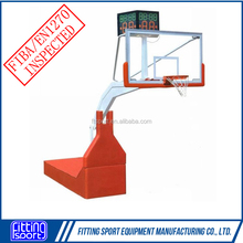 Porter Design Manual Hydraulic Basketball System Removable Portable Basketball Goal/Hoop/Frame