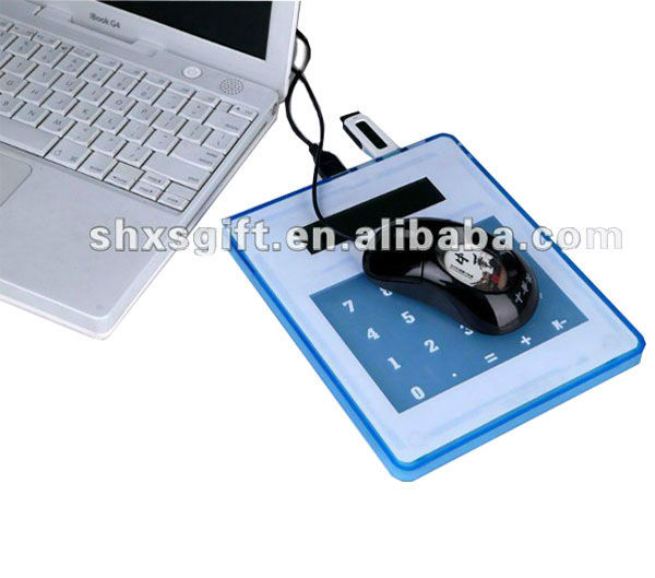 Novelty Mouse Pad Calculator with USB