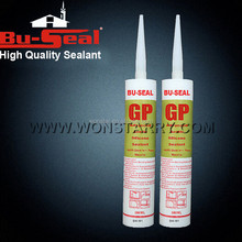 Single part aging resistance acetoxy silicone sealant for big plate glass