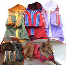 small dog clothing pet raincoat 3 colors 2016 new lovelonglong pet clothes