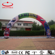 high quality inflatable rainbow arch for advertising