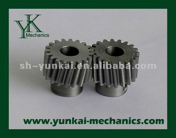 Custom hobing spare parts, high fit tolerance gear CNC machining parts
