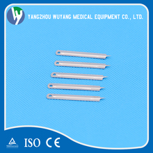 Medical disposable stainless steel blood lancet sterile blood test needles