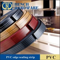 Wood Color Veneer PVC Edge Banding For Kitchen Cabinet
