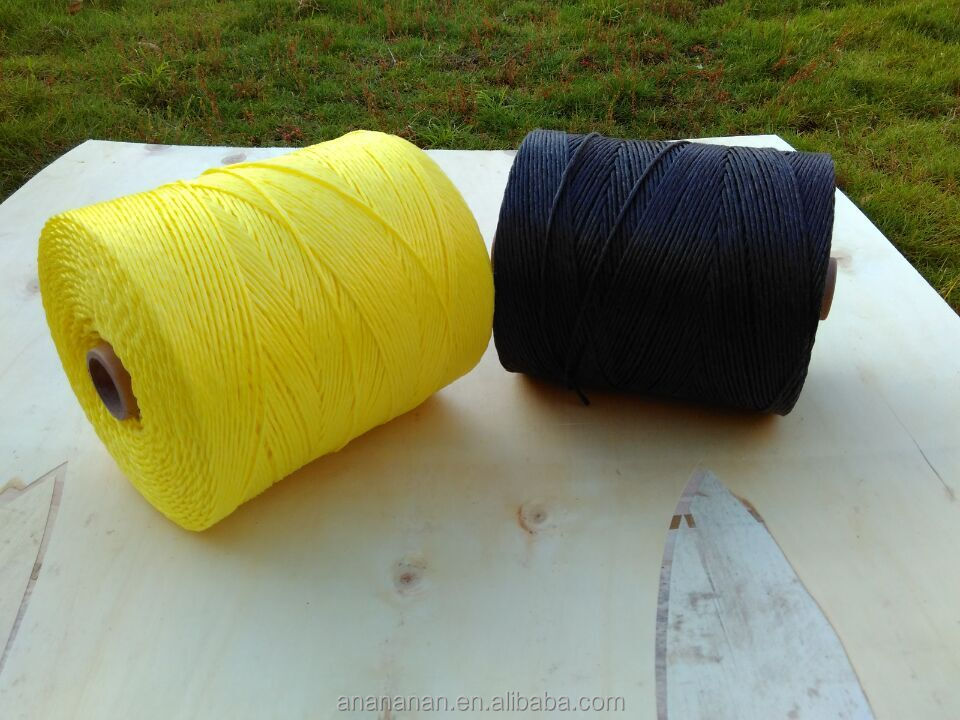 4mm polypropylene monofilament 3 strand rope with china high quality
