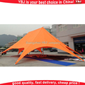 2016 YBJ new design fabric tent shade structure/star shade tents for sale