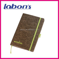 pu leather cover different color dairy book