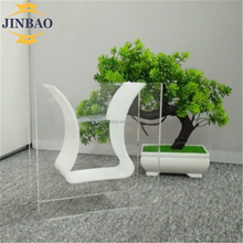 JINBAO Customized acrylic plant stand crystal acrylic tall flower vase stands