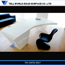 new 2014 acrylic solid surface modern executive desk germany office furniture