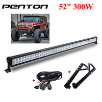 Penton 52Inch 300W Double Row Super Brightness LED Offroad Light Bar for Jeep Wrangler