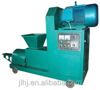 machine for making bbq charcoal /charcoal extruder machine for factory