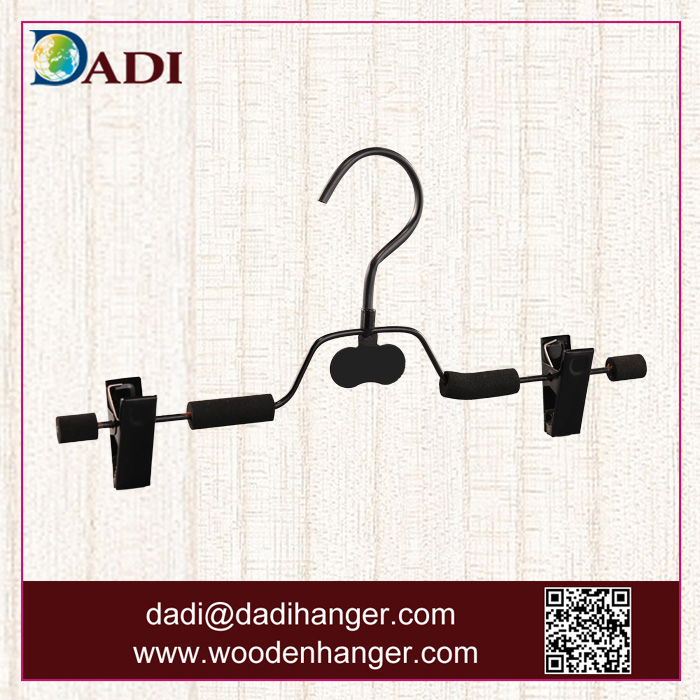 Display bottom foam metal wire pant pegs hanger