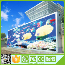 High defination full color p10 p6 outdoor mesh led screen