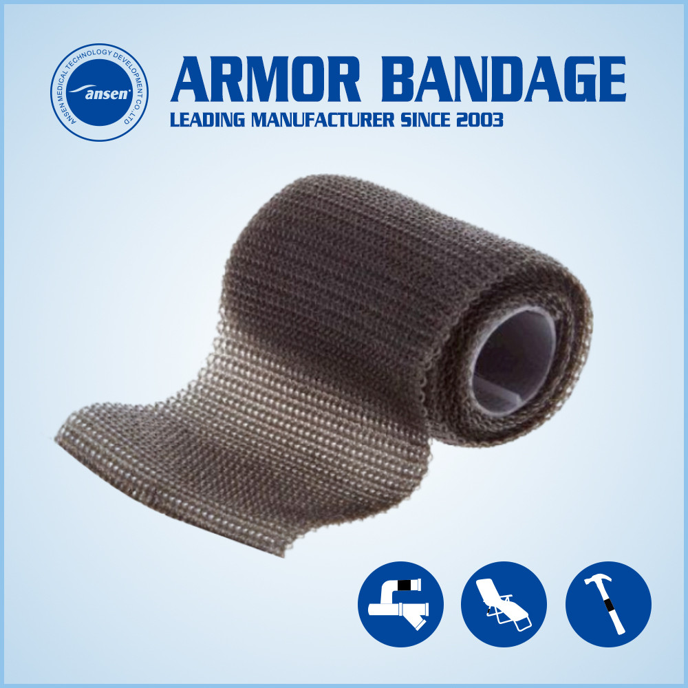 Waterproof Rapid Fix Pipe Repair Reinforce Bandage Metal PVC Copper Pipe Crack Repair Bandage