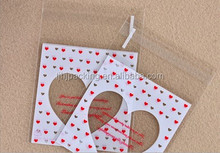 custom Hang card Plastic opp bags