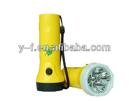 2014 New invention high-power rechargeable&environment led flashlight