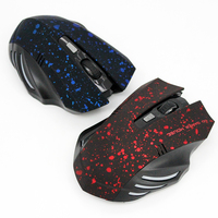 Cool design computer wireless mouse gaming optical DPI-1200 wireless mouse