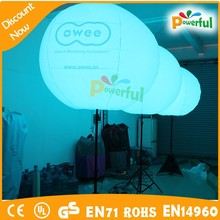 outdoor advertising flashing led balloon lights