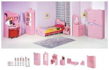 Pinky Girls Young Bedroom Furniture Set