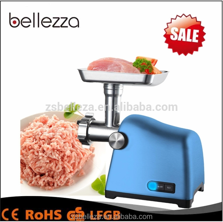 2000W High power electric multifunction Aluminum alloy meat grinder
