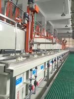 Single arm semi auto Barrel Zinc plating machine