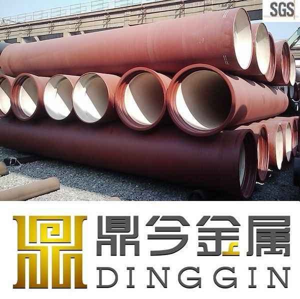 EN545/ISO2531 k9 ductile casting iron pipe specifications
