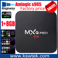 Best price private id live tv apk supported iptv android 4 2 tv box Amlogic S905 mxq pro internet tv box