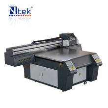 Inkjet digital pvc card uv printing machine,multicolor NTEK uv flatbed printer for pvc card printing