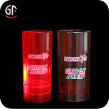 Alibaba French Promotional Gifts Supply Flashing Led Shot Plastic Glass