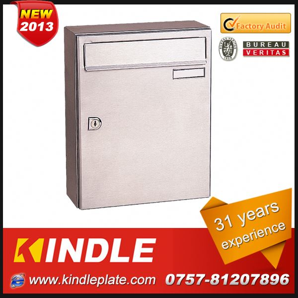 Kindle low cost commercial lockable customized handmade mailboxes with 31 years experience