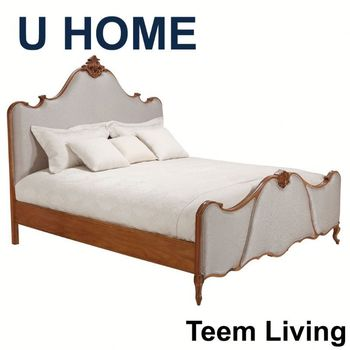 U Home French Style Antique Bed Room Furniture Sofa Bed
