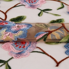 best selling popular dress making french flower ribbon lace trim fabric african