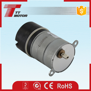 Electric gear stepper motor or 12v dc motor for ATM machine