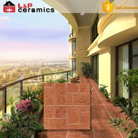 save 10% 1st choice red clay brick floor tile