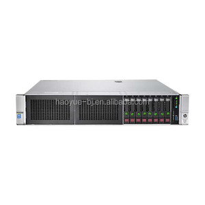 HPE ProLiant DL380 Gen9 E5-2630v4 cpu 16GB ram 8hdd 500W PS Base Server