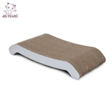 High quality world wide made of 100% recycled corrugated cardboard design cat scratcher