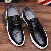 B12968A wholesale man leather shoe