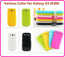 Cheap Galaxy S3 i9300 Case, Candy Colorful Phone Case for samsung galaxy s3