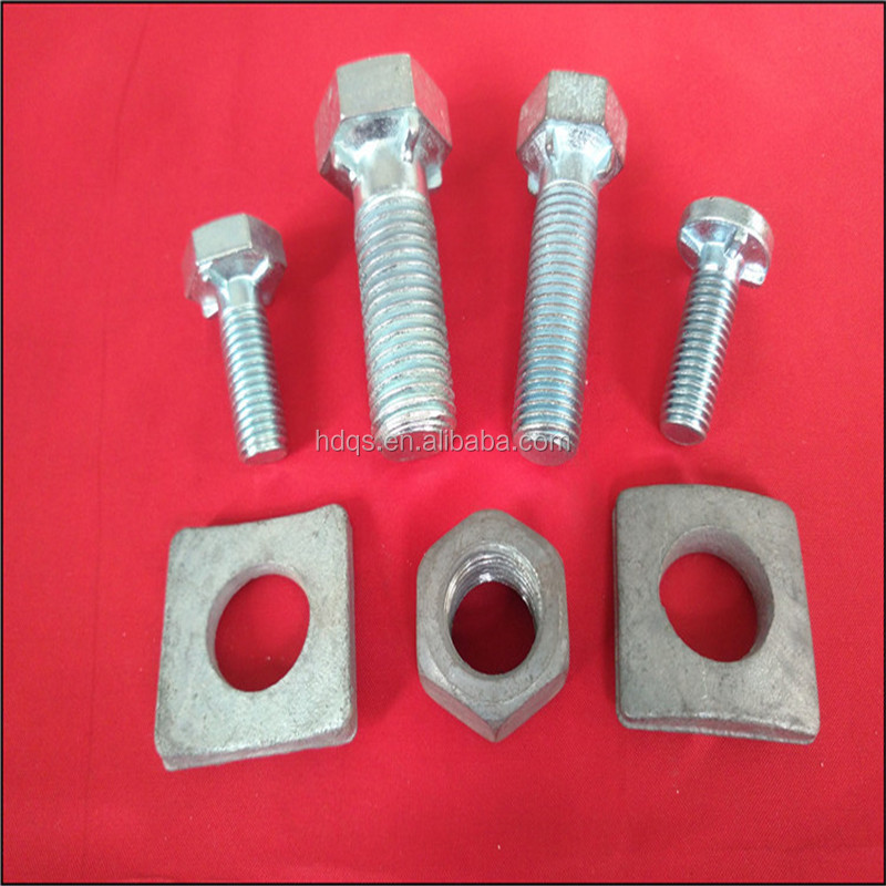 Custom Manufacture Shaped Bolt Fasteners Bolt and Nut Set