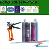 HM anchorage adhesive for reinforcement rebar embedding