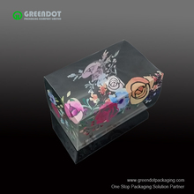 colored printing sweet box packaging small clear plastic candy box