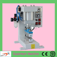 Portable Pneumatic Leather Logo Embossed Hot Stamping Machine