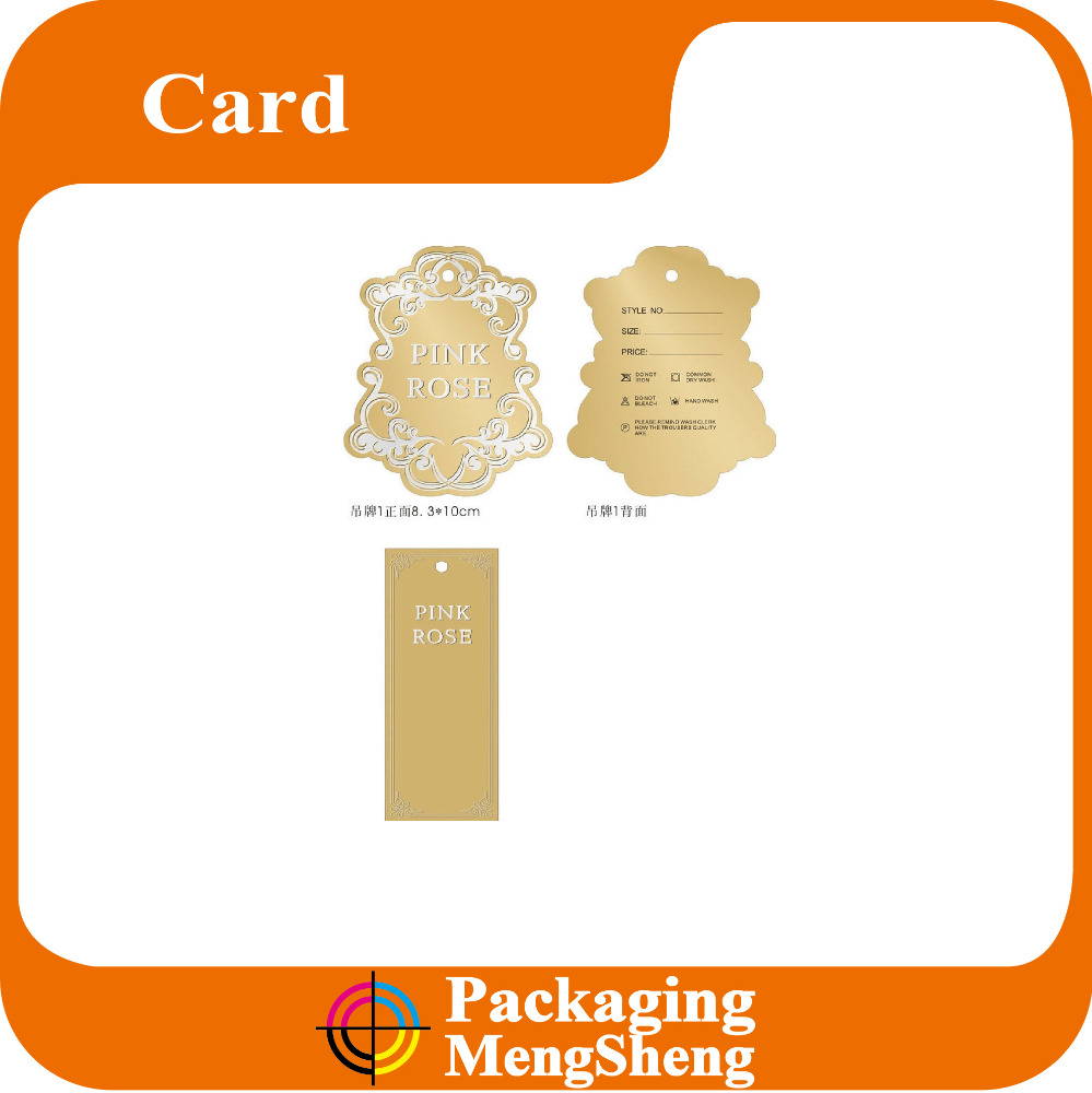 Latest Craft Paper Garment Paper Hang Tag hang tags design